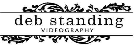 Deb Standing Videography logo